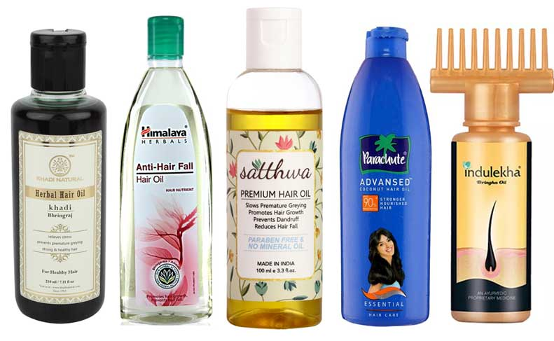 Top 5 Hair Oils for Hair Fall and Hair Growth