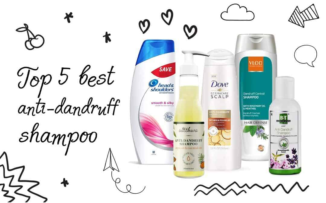 Top Anti Dandruff Shampoos in India