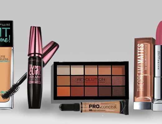 5 low priced makeup products